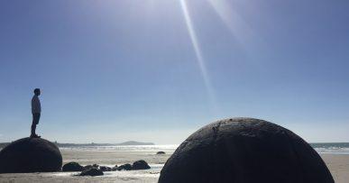 Moeraki Boulders en Nueva Zelanda