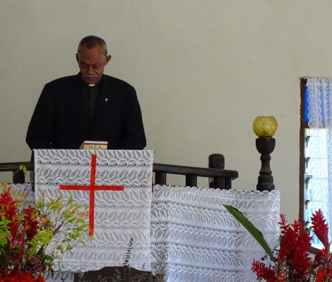 Experiencia cultural. Misa en Tonga.
