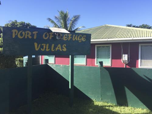 Port of Refuge Villas en Neiafu, ciudad principal del grupo de islas Vava'u.
