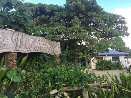 Matafonua Lodge en Roa Island. Archipiélago de Ha'apai.