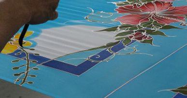 Técnica Batik en Malasia