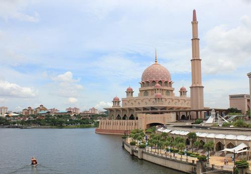 Mezquita de Putrajaya