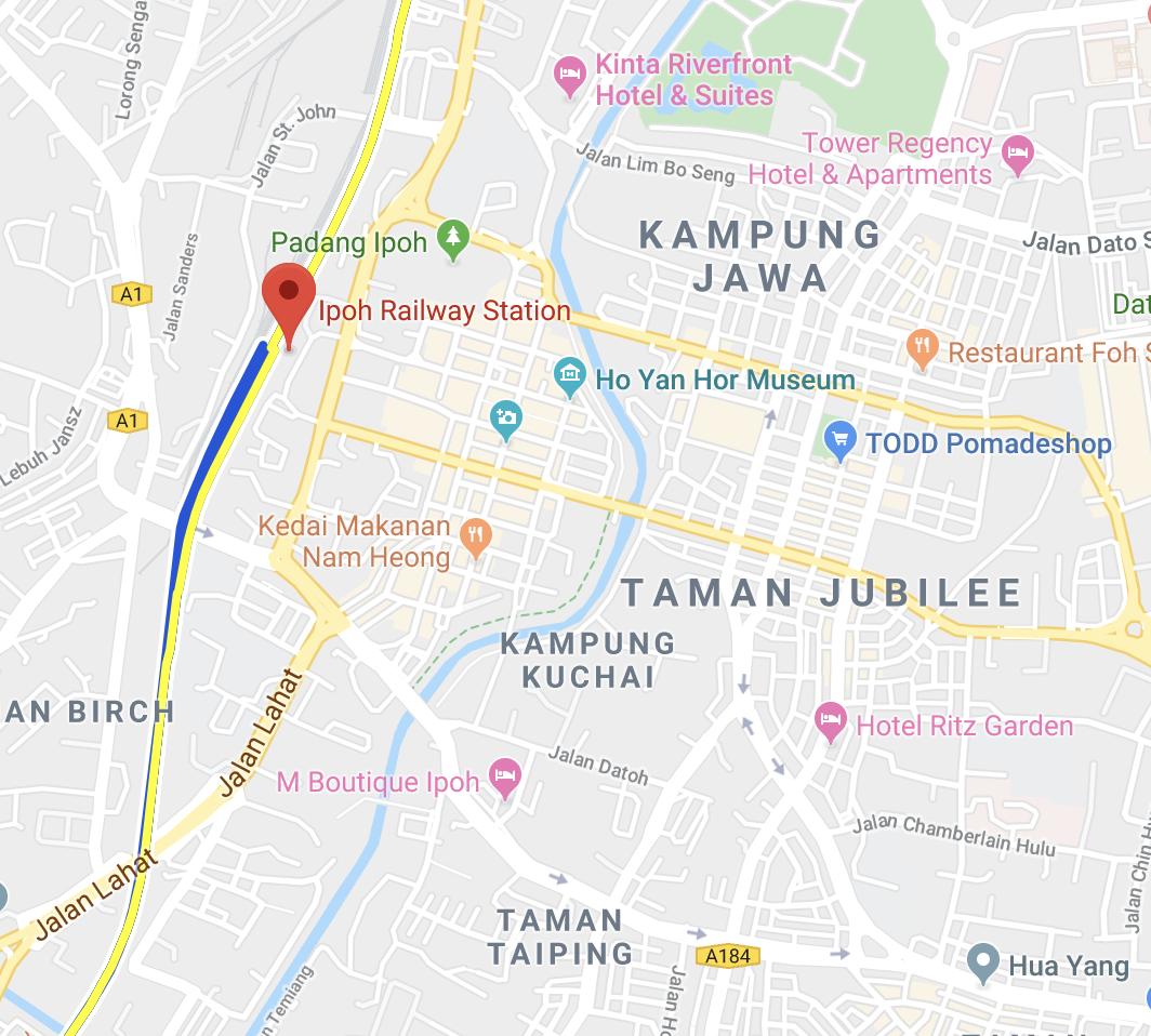 Dónde dormir en Ipoh, Malasia