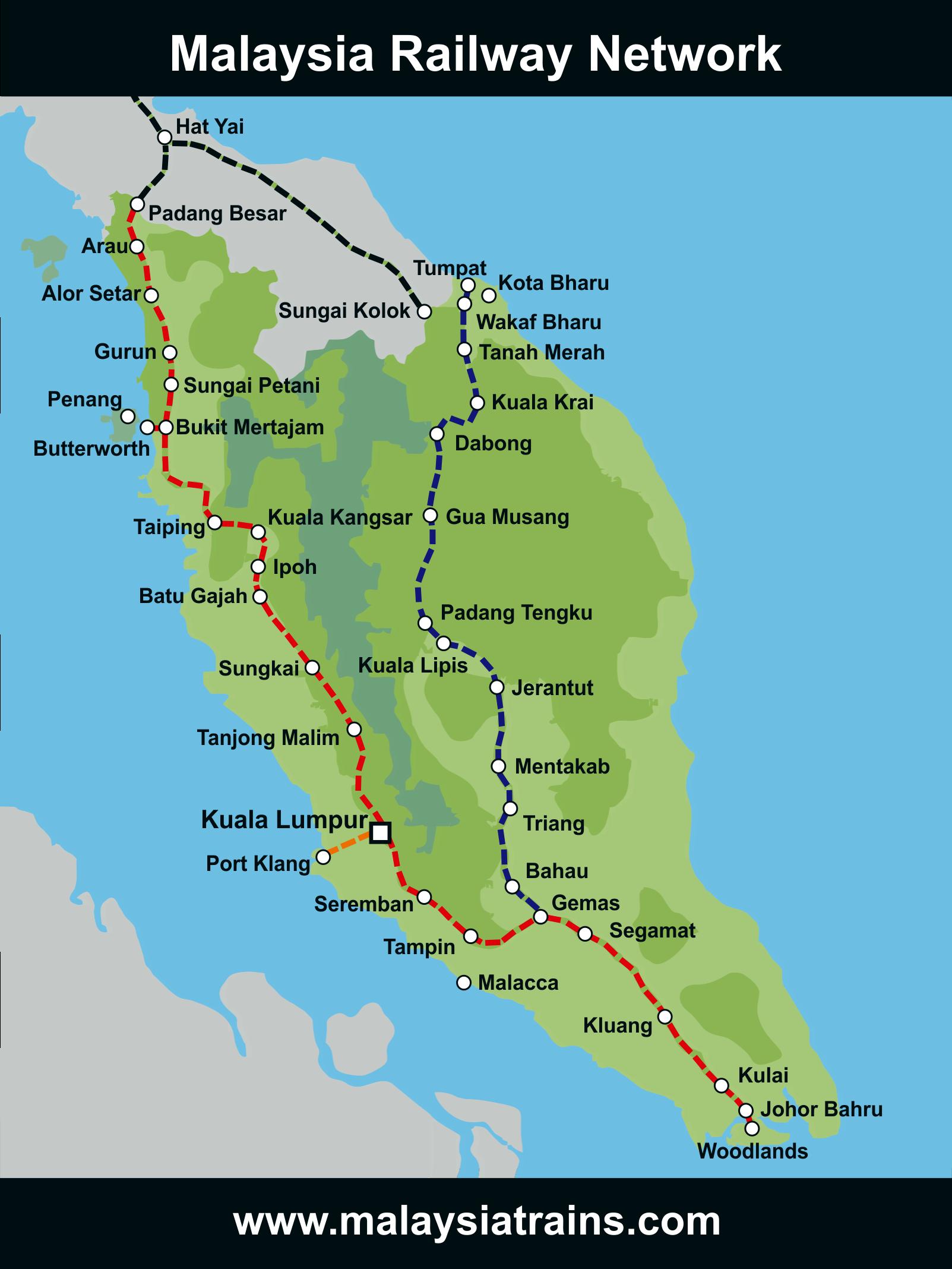 Transportes en Malasia