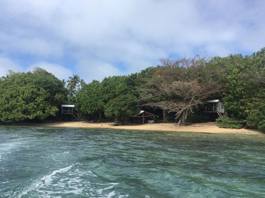 Viajar a una playa desierta, Reino de Tonga
