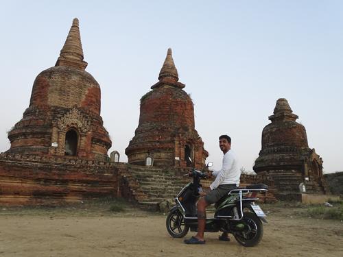 Alojamiento en Bagan