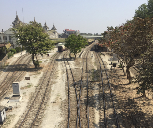 Transportes en Myanmar