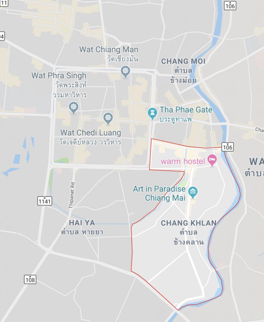 Dónde alojarse en Chiang Mai