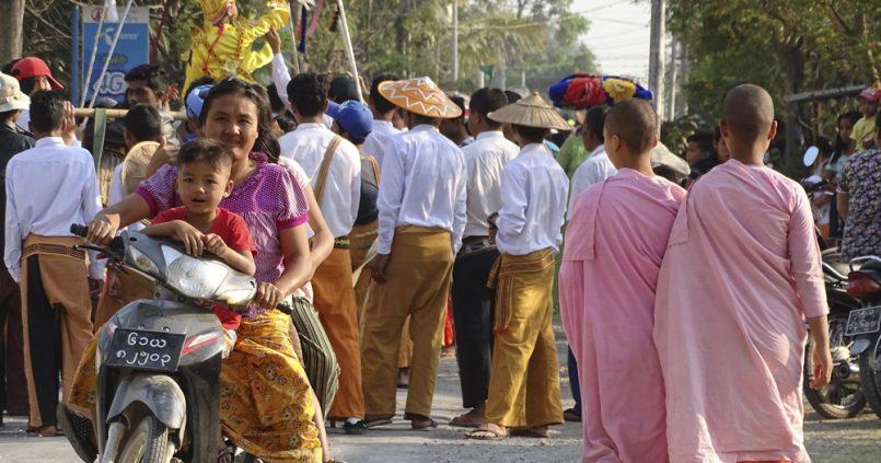 La personalidad de Myanmar