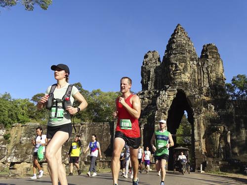 Media Maratón Angkor Wat