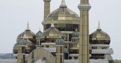 Mezquita de cristal en Kuala Terengganu