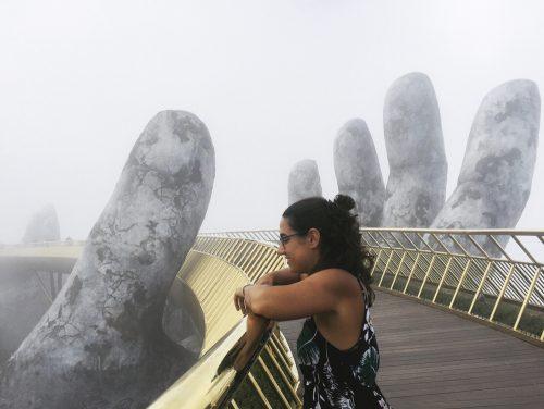 Puente dorados de las manos, Vietnam