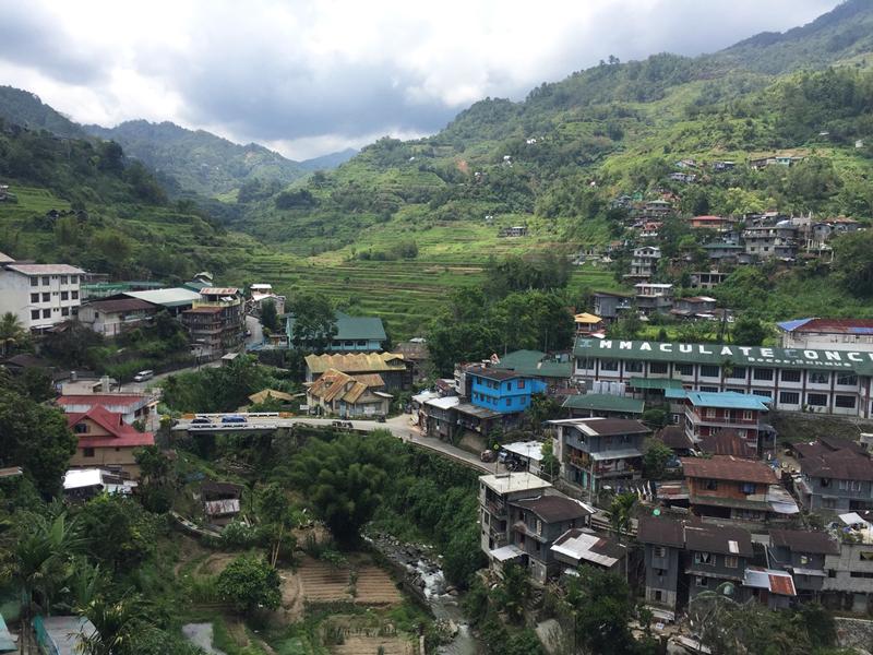alojamiento en Bananue, norte de Filipinas
