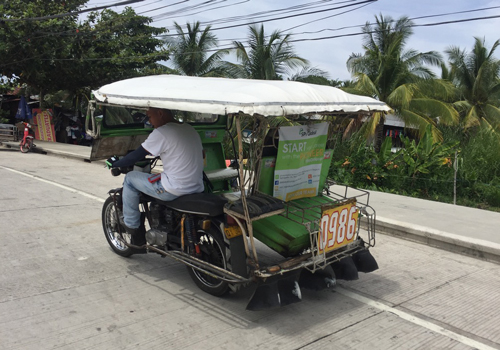 Tricycle en Filipinas