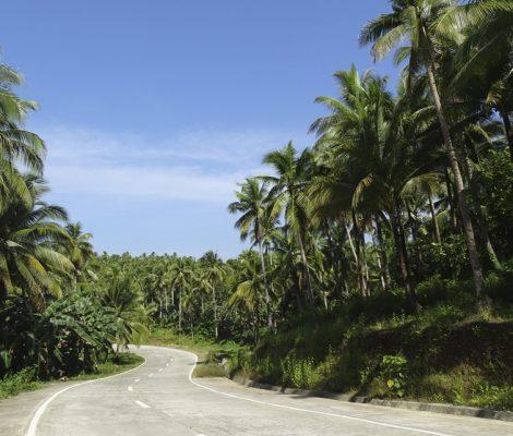 Dinagat, ruta alternativa en Filipinas