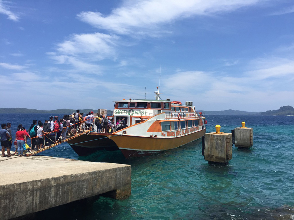 Barco rápido a Dinagat