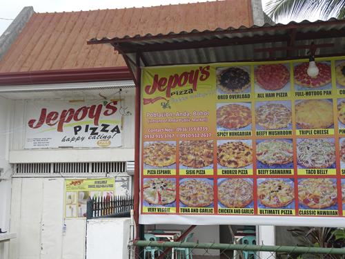 Dónde comer en Anda, Bohol.