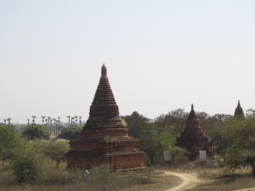 Cómo moverse en Bagan