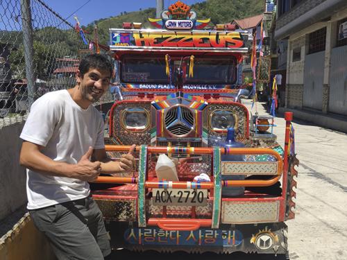 Jeepney en Bontoc, Filipinas