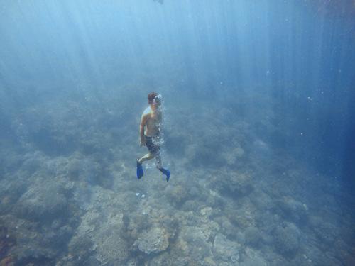 Snorkel con aletas