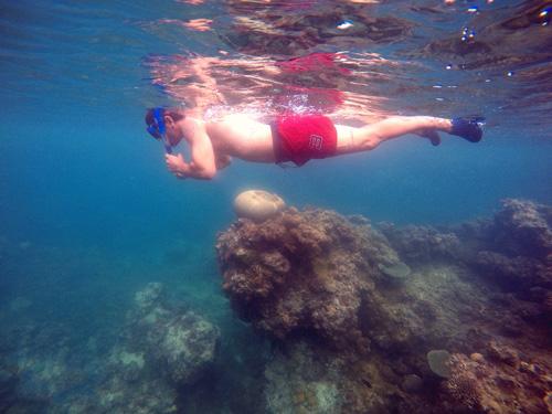 Snorkel sin aletas