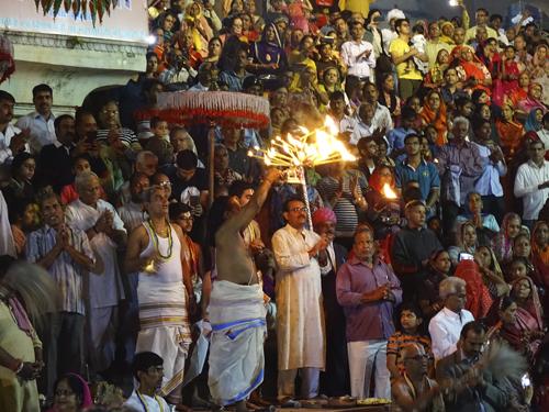 Aarti en Pushkar