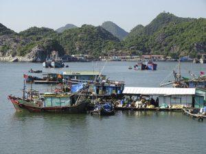 isla de Cat Ba en Vietnam