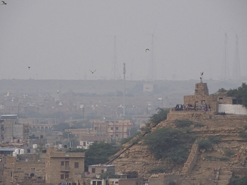 Sunset point en Jaisalmer