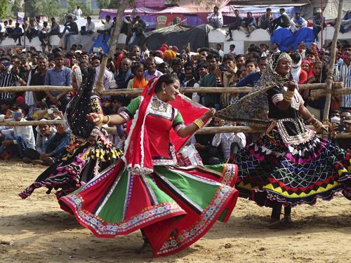 Danzas tradicionales en Pushkar