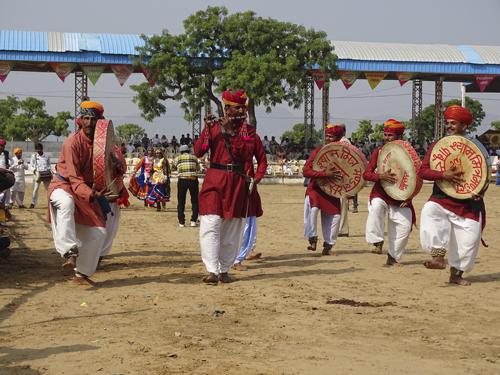 Música tradicional en Pushkar