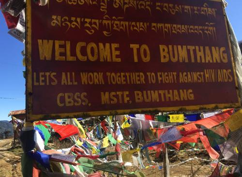Bumthang en Bután