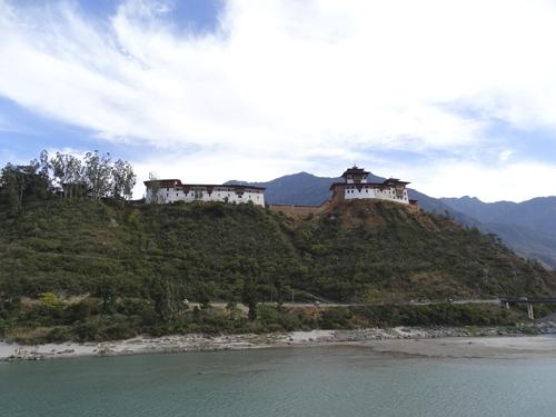 Dzong cerca de Punakha