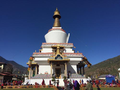 Estupa de Thimphu