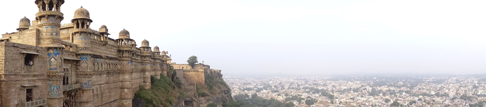 Fuerte de Gwalior, India