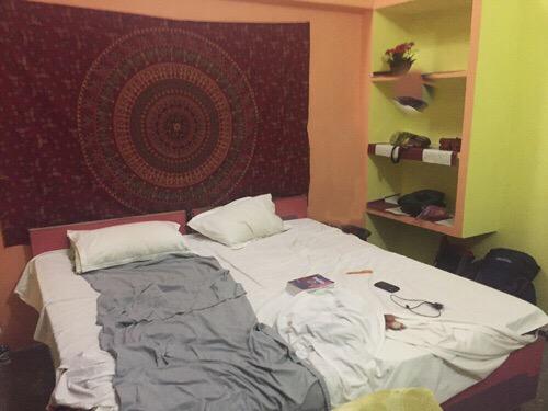Nuestro hotel en Varanasi