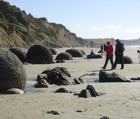 Ruta de viaje por la isla sur de Nueva Zelanda