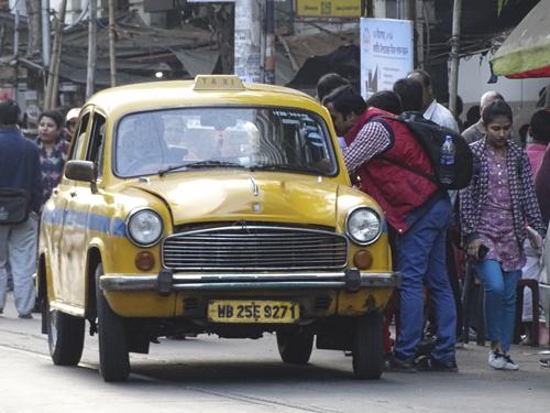 Taxis en India