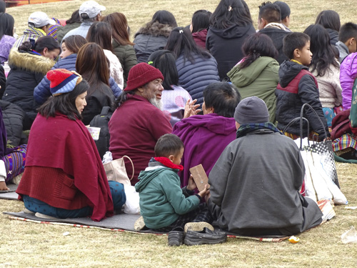Familias en Bután