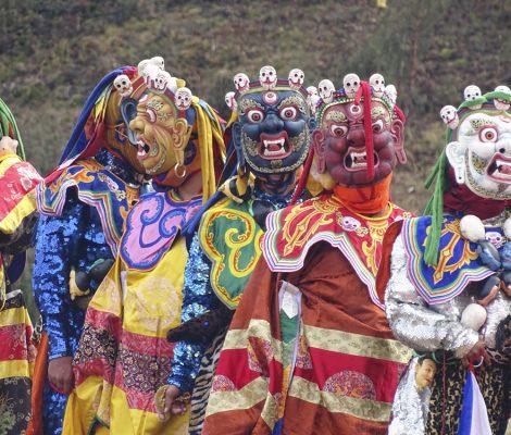 Festivales en Bután