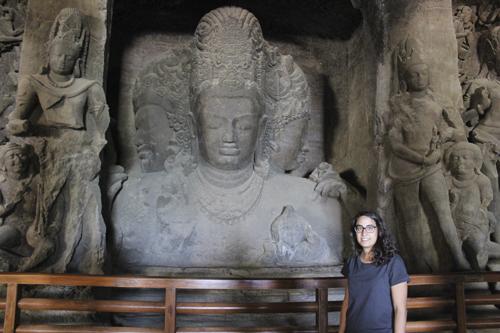 Cueva 1 en Elefanta, Bombay