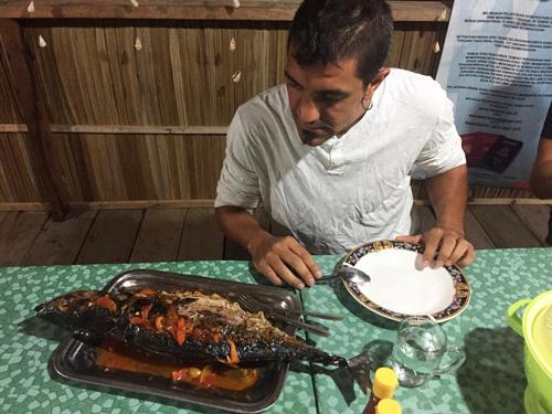 Comida en Raja Ampat