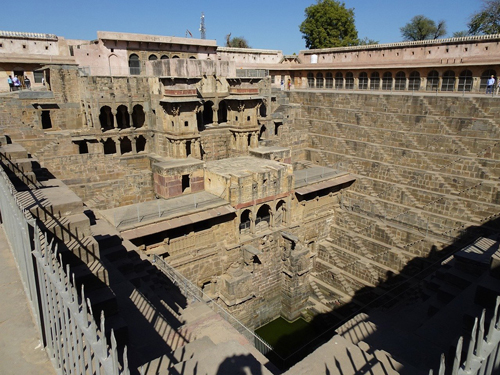 Chand Baori cerca de Jaipur