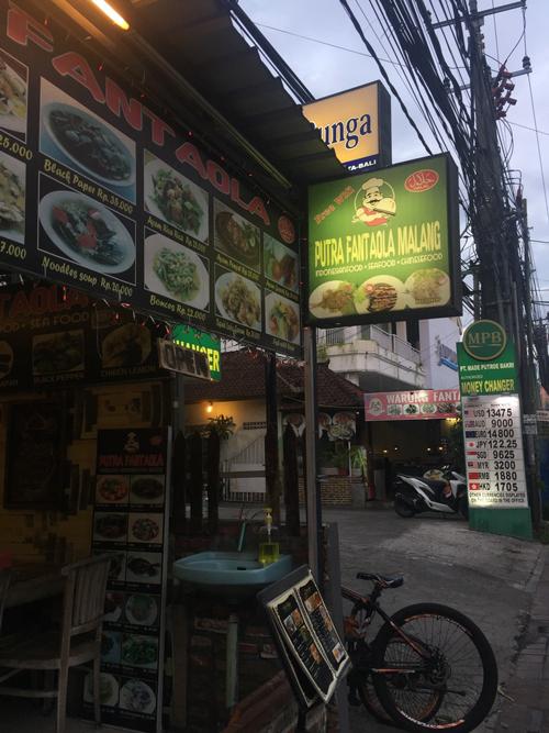Dónde comer en Kuta