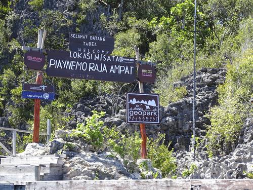 Entrada a Piaynemo