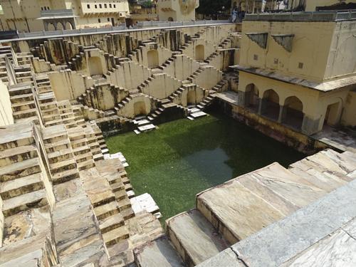 Pozo escalonado en Jaipur