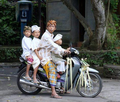 Cómo moverse en Bali. Opciones de transportes en Bali.