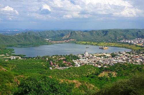 Lago de Jaipur