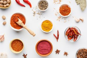 Comida no picante en India
