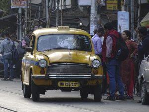 Taxi en Calcuta