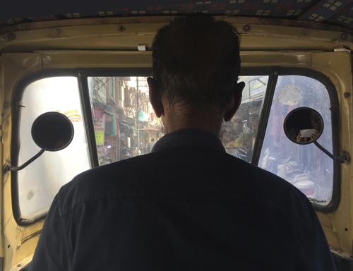 tuk-tuk en India